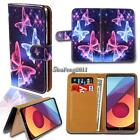 Leather Wallet Stand Magnetic Flip Case Cover For Various LG X Series Phones