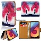 Leather Wallet Stand Magnetic Flip Case Cover For Various LG L Series Phones