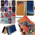 Leather Wallet Stand Magnetic Flip Case Cover For Samsung Galaxy S S2 S3 S4 S5