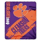 "NCAA Painted Printed Fleece Throw, 50"" x 60"""