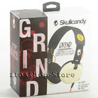 Skullcandy Grind On Ear Stereo Headphones w/Microphone & Taptech Remote NEW BOX