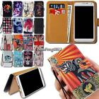 Leather Wallet Card Stand Magnetic Flip Case Cover For Various Mlais Smartphones