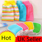 For Bathing Small Square Towel Stripe Plaids Cleaning Towel Gloves For Shower