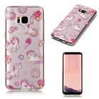 2018 Various Slim Clear TPU Soft Case Cover For Samsung S6 S7 edge S8 S8+ A3 A5