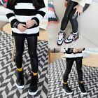 Toddler Kids Baby Girls PU Leather Stretchy Skinny Leggings Slim Pants Trousers
