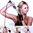 Curling Wand for Tousled Waves, Tourmaline, Ceramic Technology on Round Barrel