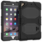 For Apple iPad 9.7 Inch 2017 5th Gen Shockproof Rubber Hard Kickstand Case Cover