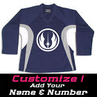 Jedi Order Star Wars Hockey Practice Jersey Optional Name  Number Navy