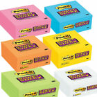 Post it Super Sticky Notes 3 x 3 All Colors 90 Sheets Per Pad, Pack Of 5