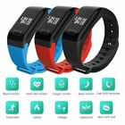 Внешний вид - F1 Blood Pressure/Oxygen Heart Rate Monitor Smart Watch Bracelet Fitness Tracker