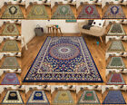 TRADITIONAL CLASSIC ELEGANT SMALL - LARGE RUNNERS MAT PATTERNED AREA SOFT RUG
