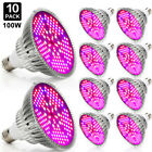 1/2/4/10PCS Preoccupied Spectrum 100W E27 LED Grow Light Bulb Plant Veg Flower Lamp