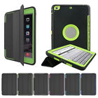 US Shockproof Armor Stand Smart Cover Case For iPad 9.7 2017 5th Gen A1822 A1823
