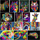 Colorful Animals DIY 5D Diamond Painting Embroidery Cross Stitch Craft Art Decor