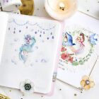 Cute Girl Sky Bird Flower Washi Tape Masking Tape DIY Scrapbooking Diary Sticker