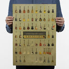 Vintage Retro One Piece Poster Kraft-Paper Antique Music Poster Bar Wall Decor