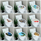3d Landscape Bathroom On The Toilet Seats Wall Sticker Waterproof Painting Decor