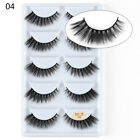 5 Pairs 3D Mink Hair False Eyelashes Wispy Cross Long Lashes Makeup Soft Hair <br/> Good Quality,Best Price, 1800+ Sold!