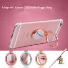 Approach Magnetic Mirror Finger Ring Sticky Holder For Smart Phone Universal