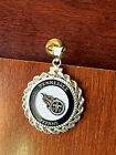 STERLING SILVER ROPE PENDANT W  NFL TENNESSEE TITANS b SETTING JEWELRY GIFT