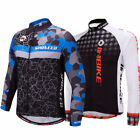 Pro Cycling Jackets Long Sleeve For Men Breathable Road Bike Bicycle Jersey Tops