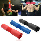 Foam Padded Barbell Bar Cover Squat Pad Weight Lifting Shoulder Back Support New