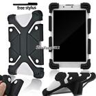 "Soft Silicone Shockproof Stand Cover Case For 7"" 8""  IRULU Tablet + Stylus"