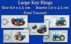 Large Key Rings Ford Tractors