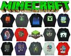 Boys Official Mojang Minecraft Creeper Sprites Boss Long Sleeve Top 9-10 Years