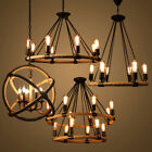 Rope Chandelier Pendant Light Restoration Hardware Lighting Lamp Ceiling Fixture