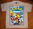 Pokemon Personalized Birthday Party Favor Gift T-Shirt - NEW
