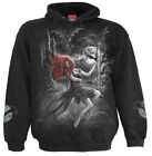 SPIRAL DIRECT QUEEN OF THE NIGHT Hoody/Tattoo/Angel/Goth/Gothic/Biker/Metal/Hood