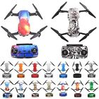 Waterproof Fiber Stickers Decal Skin Cover Wrap Full Set For DJI Mavic Air Drone