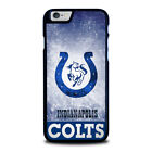 INDIANAPOLIS COLTS For iPhone 4 4S 5 5S 5C 6 6S 7 8 Plus X XS Max XR Phone Case