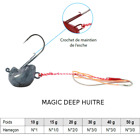 Leurre MAGIC DEEP TENYA Sparidés Dorades sparidae sea bream pagrus pollack New