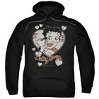 Betty Boop Classic Kiss Pullover Hoodies for Men or Kids $26.39 USD