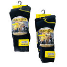 New MEN'S l WORK Thermal SOCKS HEAVY DUTY One Size Pack Of 3 UK 6-11