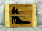 Engraved Painted & Personalised Bread/Chopping Board - Wedding Gift - 68