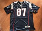 Rob Gronkowski #87 New England Patriots Navy Blue NFL Game Jersey