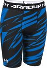 Under Armour HeatGear Armour Long Junior Short Running Tights - Blue