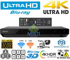 NEWEST Sony UBP-X700 4k All Region Code Free DVD and Zone ABC Blu Ray Player UHD