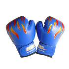 Children Kids FIRE Boxing Gloves Sparring Punching Fight Training Age 3-12CLBD
