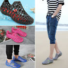 Beach Men's & Women Breathable Slippers Hollow-out Sandals Garden Hole Shoes#