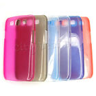 Mutli Color Hard Phone Case Ultra Thin Glitter Clear for Galaxy S3 i9300 LOT