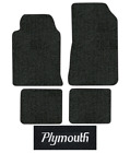1984-1986 Plymouth Conquest Floor Mats - 4pc - Cutpile $195.95 USD on eBay