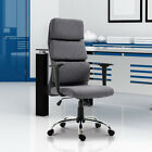 Office Chair Thick Padded Executive Computer Seat Adjustable 2 Colours Home