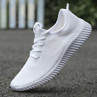 Mens Flyknit Sneakers Lightweight Sport Running Training Athletic Shoes