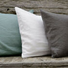 Pre-washed 100% French Linen Cushion Cover /Pillowcase,of many sizes, 6 colors