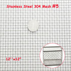 304 Mesh Stainless Steel Wire Cloth Screen Filter 4 /5 /8 /10 /14 /16 /20 /30 /100
