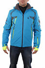 Spyder Herren 153022-480 Skijacke Pinnacle Jacket Electric Blue/Polar